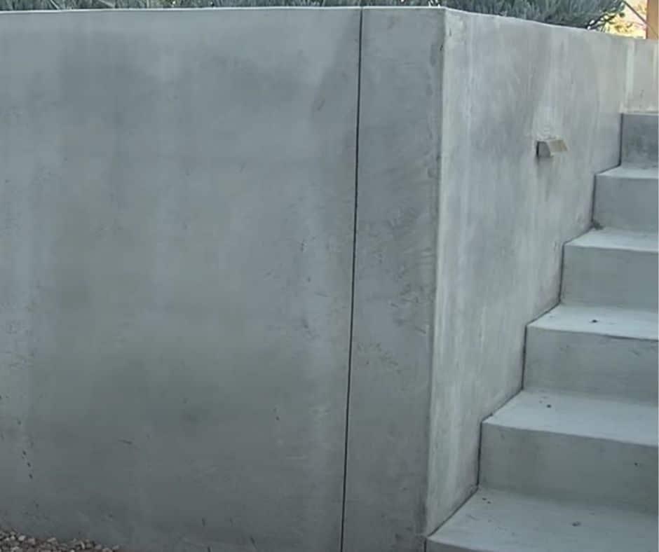 Concrete retaining wall Jacksonville